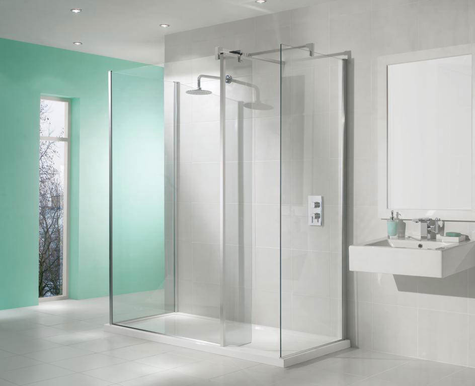 3 Sided Walk In Shower Enclosures - Shower Designs